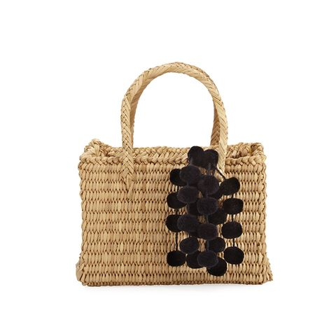 Baby Maldives Raffia Tote Bag