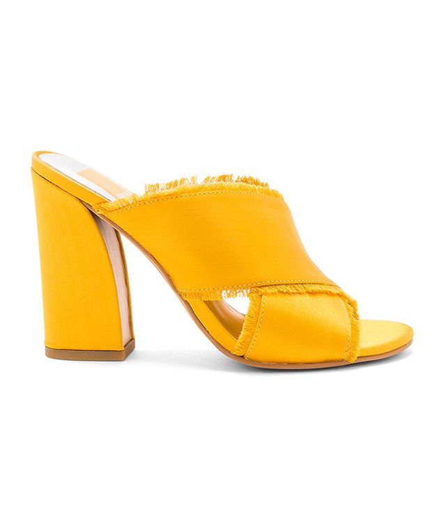 Henry Mule in Mustard. - size 10 (also in 6,6.5,7,7.5,8,8.5,9,9.5)
