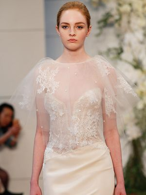 Bridal Capes Are a Thing, and These Are the Prettiest Ones