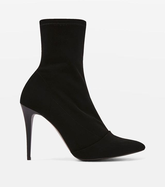 HUBBA Pointed Sock Boots