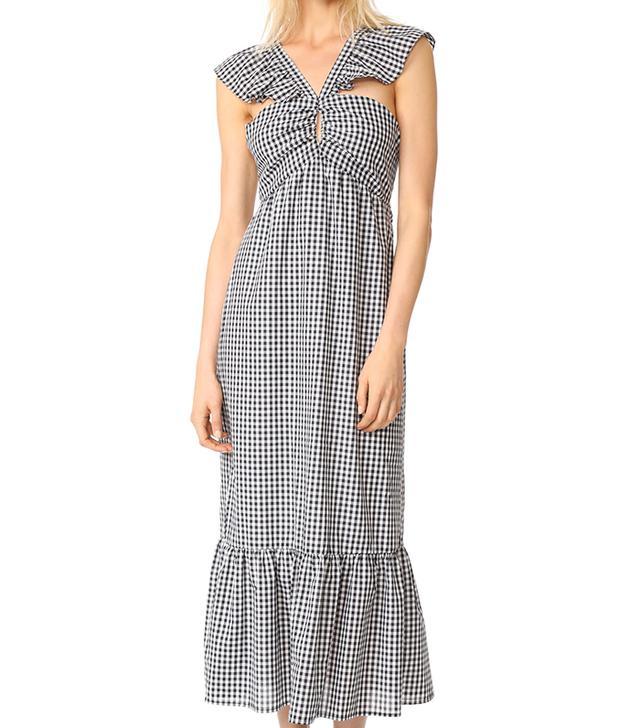 Bella Ruffle Strap Tiered Dress