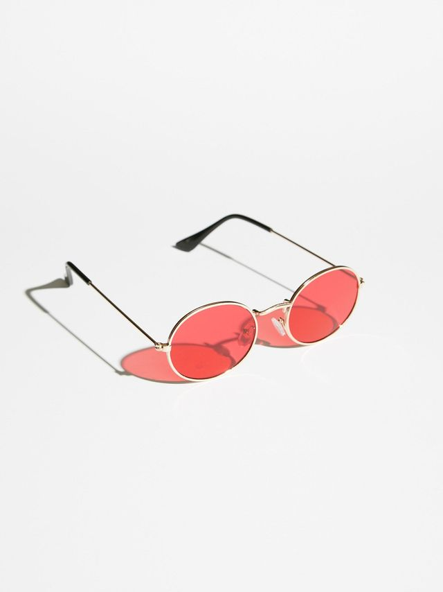 Got A Crush Oval Sunnies by Free People
