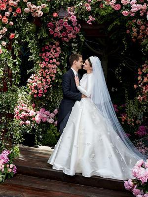 Miranda Kerr's Wedding Hair Took Just 15 Minutes