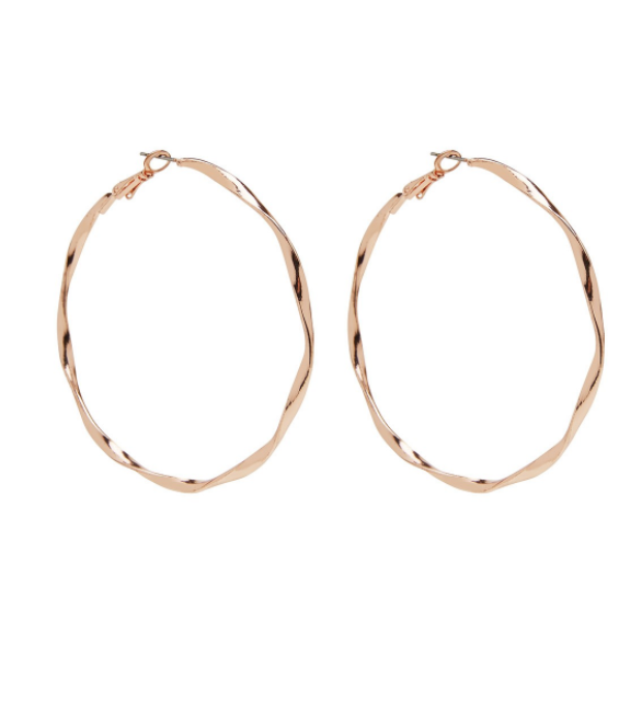 Sportsgirl Twisted Hoop Earrings