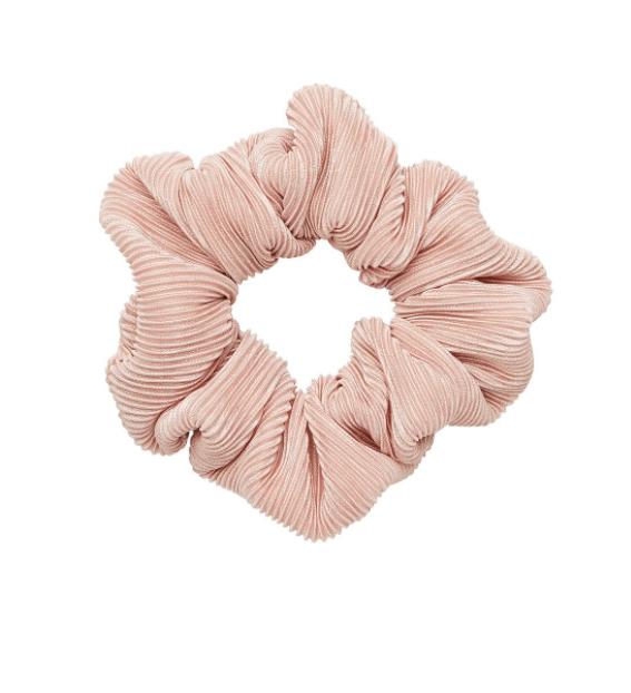 Sportsgirl Blush Crinkle Scrunchie
