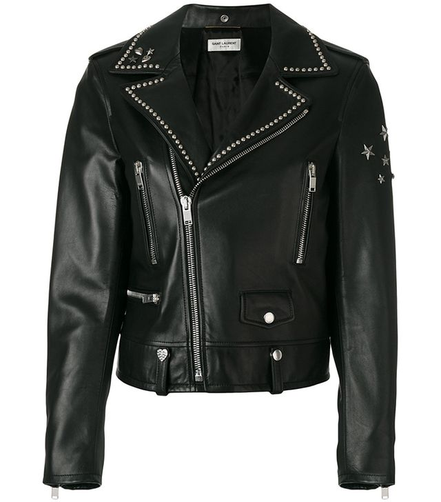 Saint Laurent Studded Collar Jacket