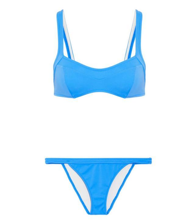 Hailey Baldwin bikinis: Solid and Striped  Molly
