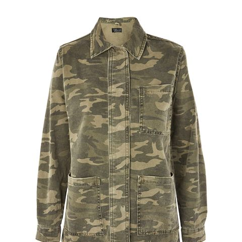 Camouflage Shacket