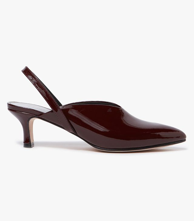 Wext Heel in Rosewood Patent