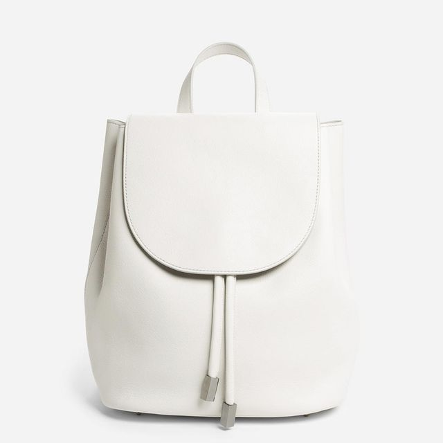 Women's Petra Backpack Leather Bag by Everlane in White