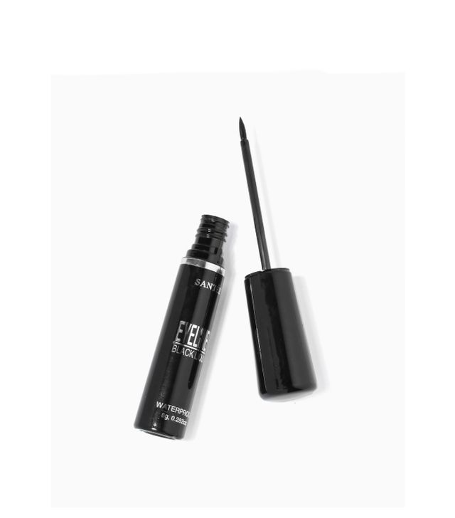 Santee Waterproof Black Liquid Eyeliner