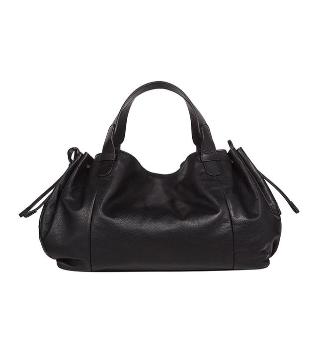 Gerard Darel Leather Le 24 Heures Bag