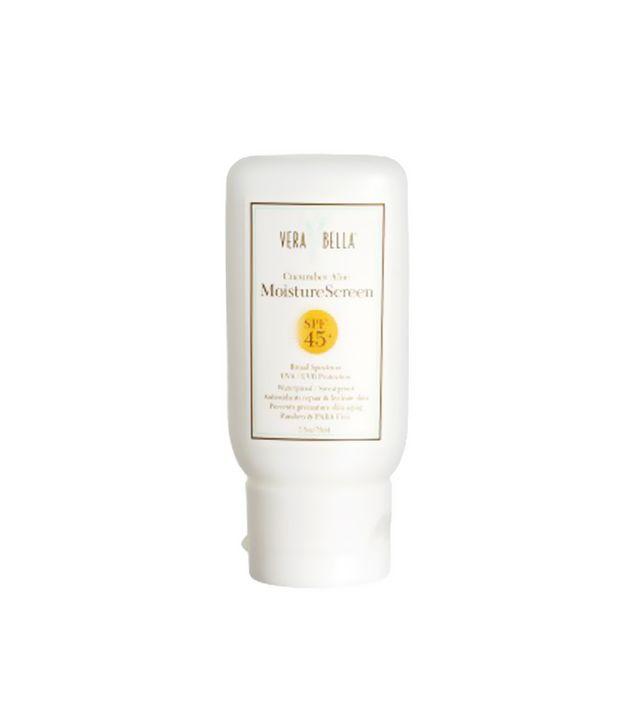 vera bella moisture screen - summer skincare