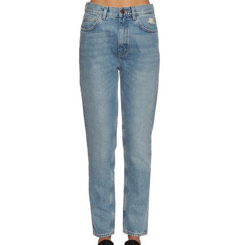 Mimi High-Rise Slim-Fit Jeans