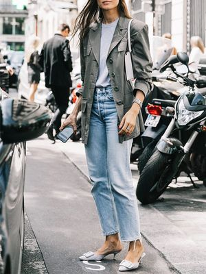 The Denim Trend Every It Girl Will Try This Fall