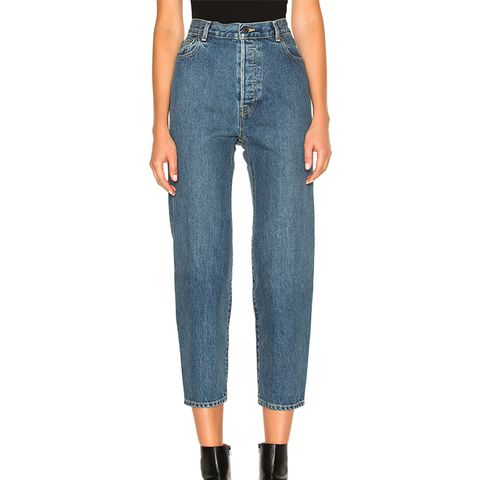 Classic High-Waist Denim