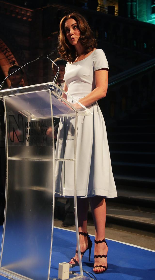 Kate Middleton S Scalloped Prada Stilettos Whowhatwear