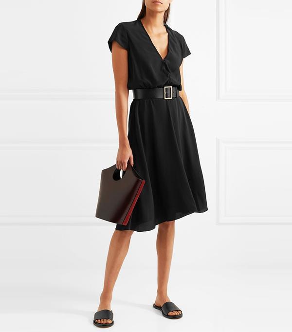 Best Summer Dresses for Work: West Crepe Dress