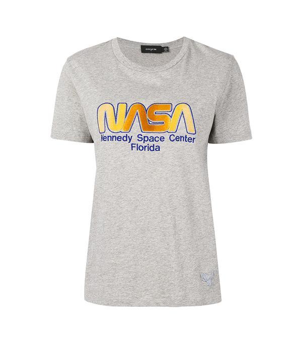Nasa embroidered T-shirt