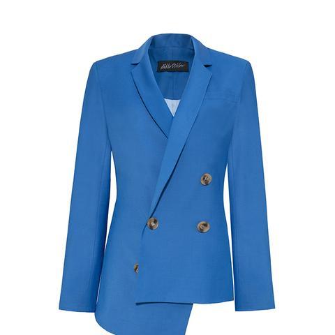 Asymmetric Wool Jacket