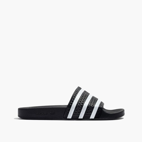 Adidas® Unisex Adilette® Slides in Black and White
