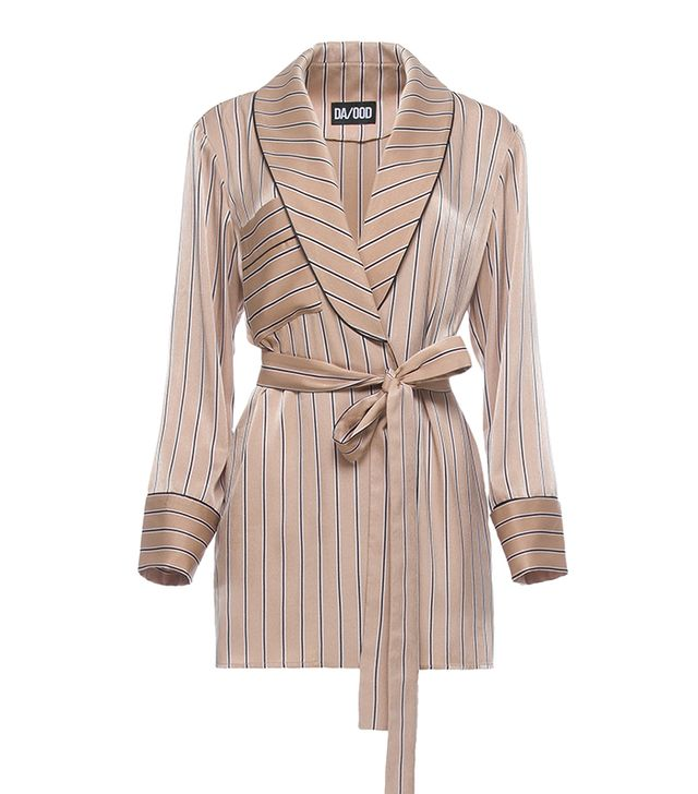 Relaxed Robe With Self Belt