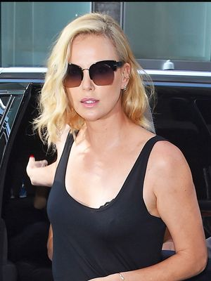 Charlize Theron Proves the Statement-Making Power of a Miniskirt
