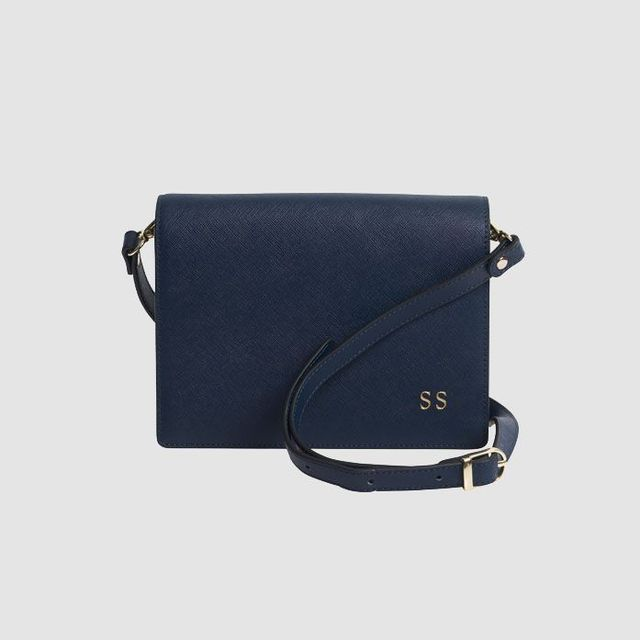 The Daily Edited Ink Navy Rectangular Cross Body Bag