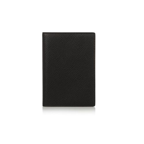 Smythson Textured-Leather Passport Cover