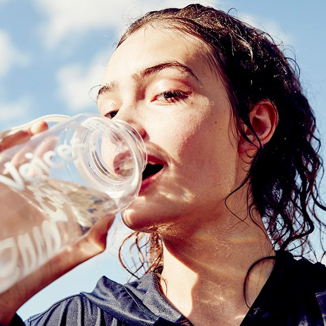 Age-old stories and advice would have us believe drinking a gallon of water a day will solve every problem we have—from weight loss to anti-aging. But is it a myth? I can't imagine it...