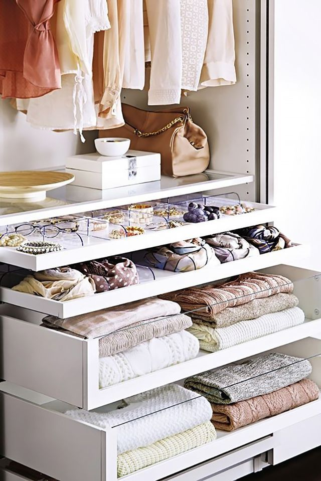 USE DRAWER INSERTS