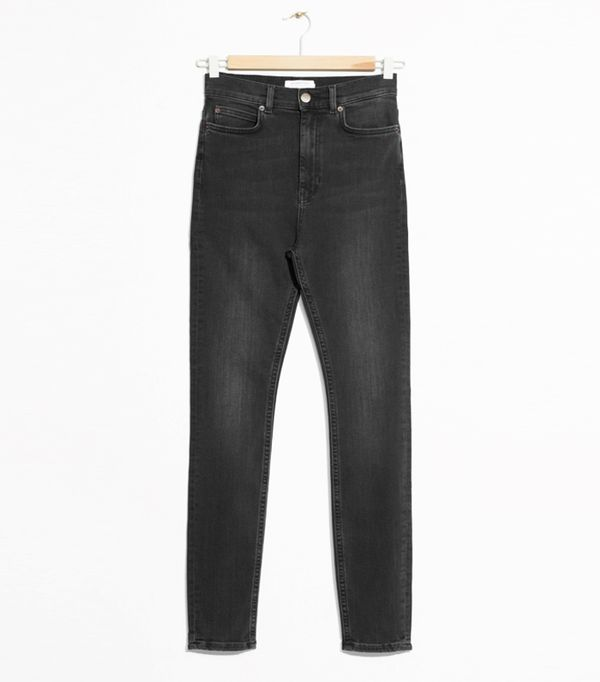 High-waisted straight leg jeans trend: & Other Stories Cropped High-Rise Jeans