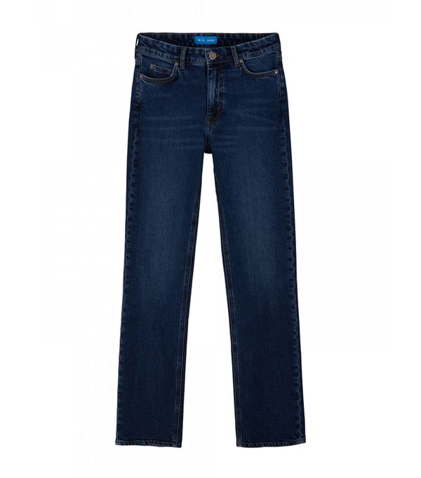 High-waisted straight leg jeans trend: Mih Daily Jean High Rise Straight