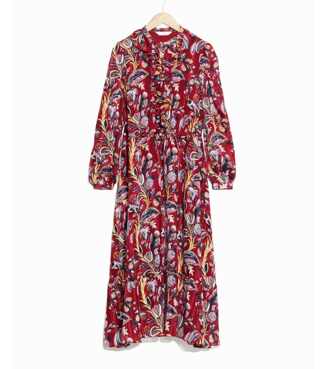 Best transitional dresses: & Other Stories floral maxi