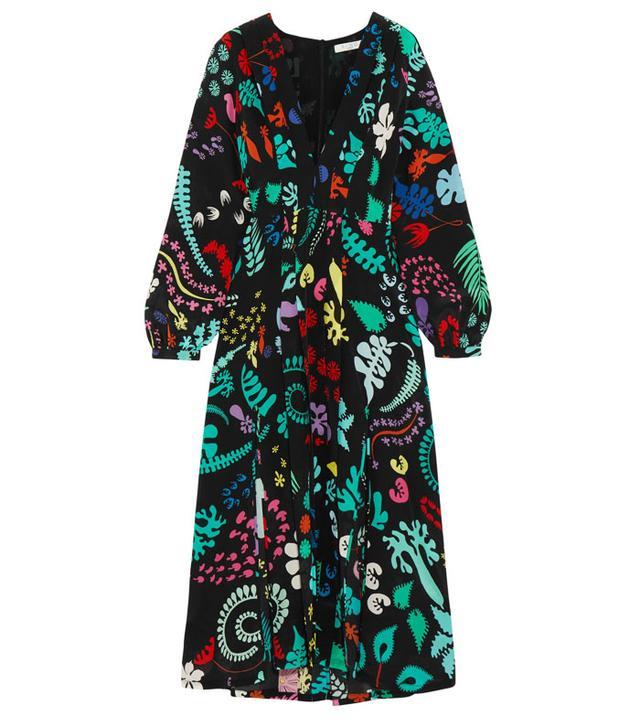 Best transitional dresses: Rixo printed dress