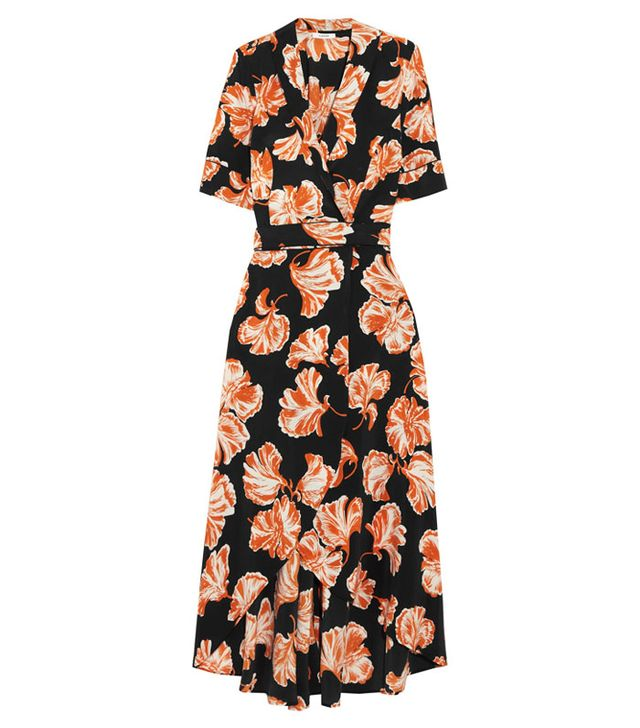 Best transitional dresses: Ganni print dress