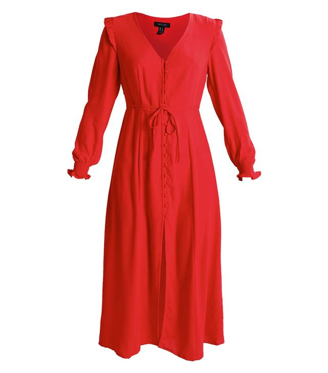 Best transitional dresses: New Look red dress