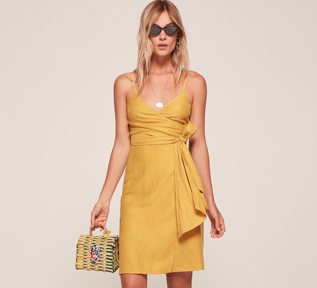The Reformation Lucilia Dress