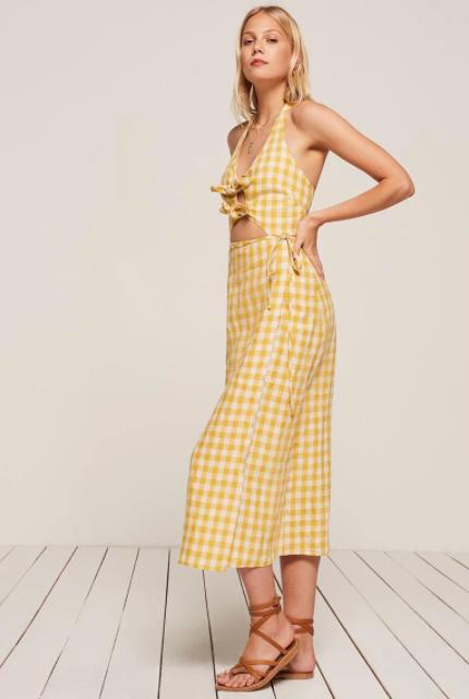 The Reformation Amalfi Dress