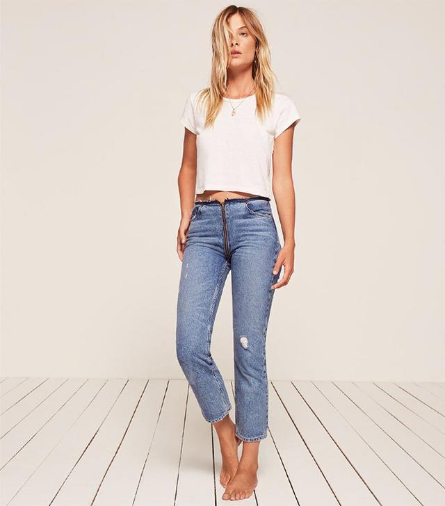 Zipper Jean