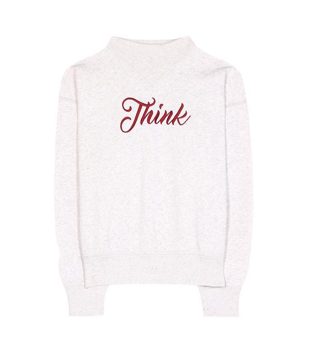 Loby cotton-blend sweatshirt