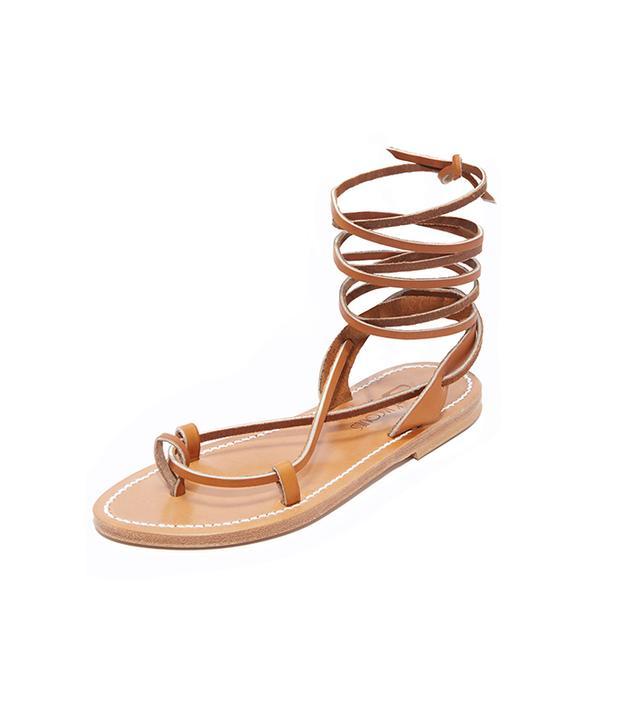 Lucile Wrap Sandals