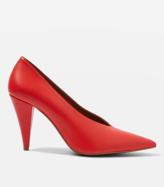 JOURNAL Cone Heel Shoes