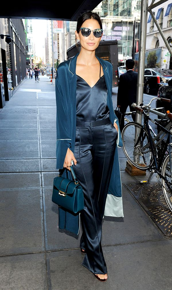 Lily Aldridge at Annual Charity Day in New York City