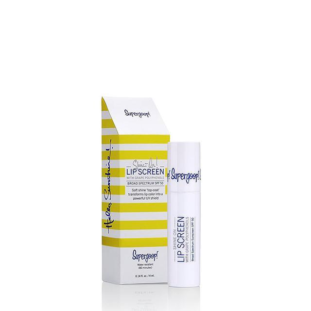 Shine On Lip Screen with Grape Polyphenols, Clear, 0.14 fl oz.