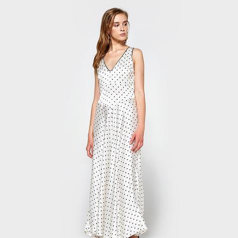 Leclair Satin Maxi Dress