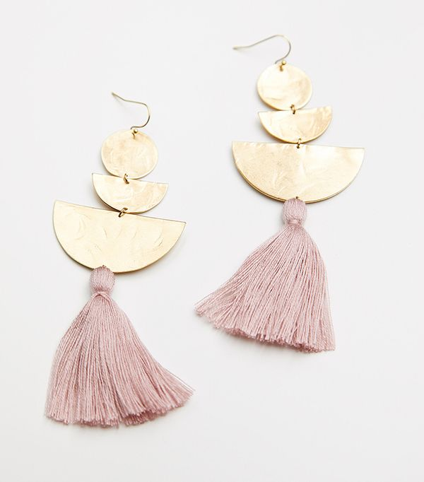 Bryce Canyon Tassel Earrings by Sandy Hyun at Free People