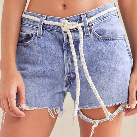 Recycled Rope Tied Levi's Denim Short