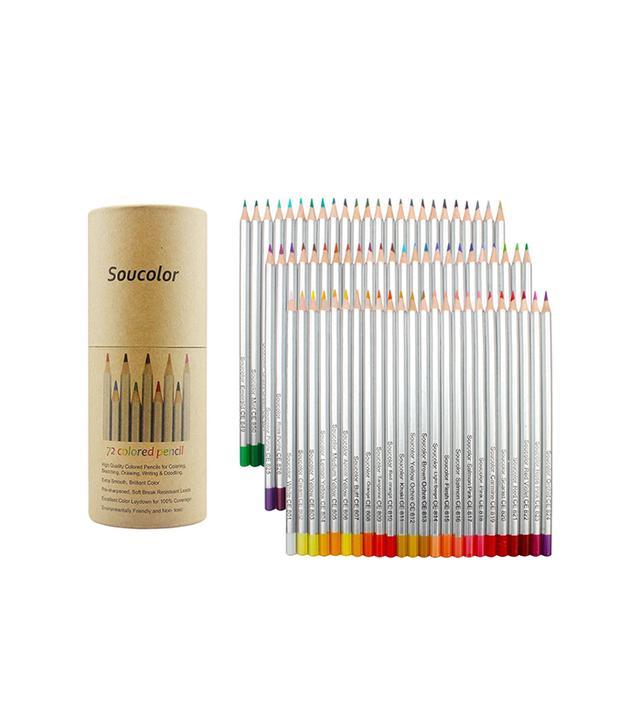 Soucolor 72-Color Pencils