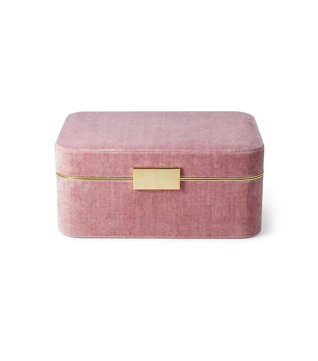 Aerin Beauvais Velvet Jewelry Box